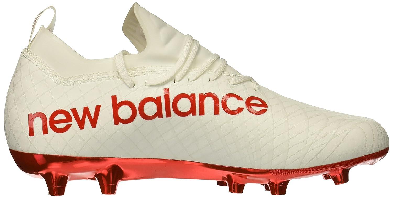 New Balance Balance Balance Men's Tekela 1.0 Pro FG Soccer schuhe, Weiß Flame Orange, 9 2E US 371dac