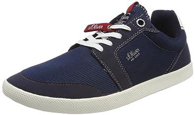 s.Oliver Herren 13622 Sneaker, Blau (Navy), 42 EU