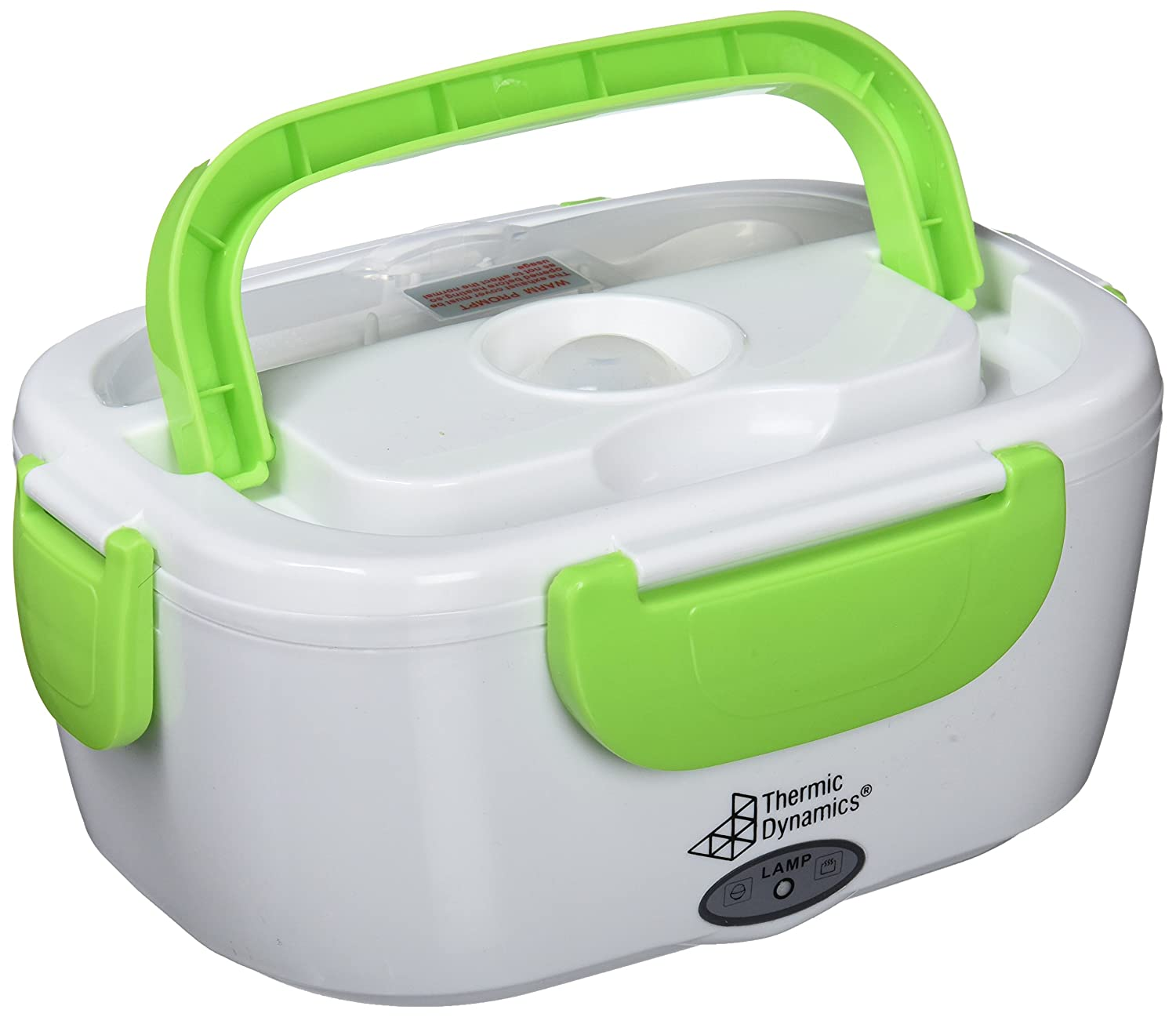 Thermic Dynamics Lunchbox Electric Car Pitcher, White/Green, 23 x 10.5 cm x 16.5 cm IG107873