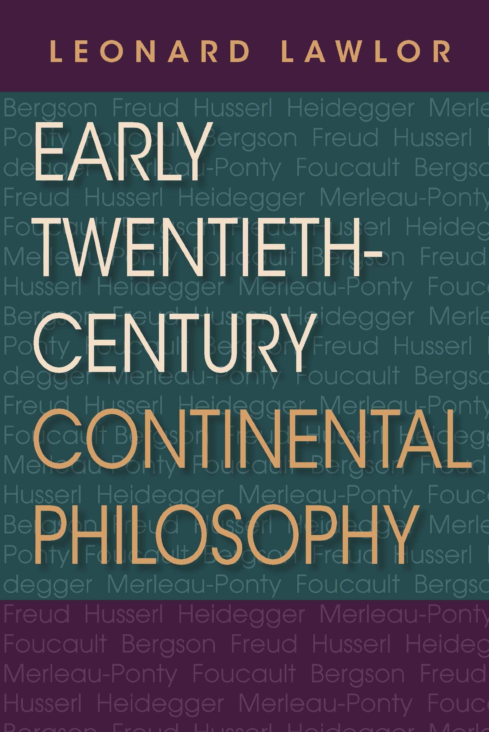 Download Early Twentieth-Century Continental Philosophy (Studies in Continental Thought) PDF