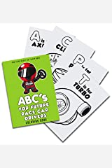 ABC's For Future Race Car Drivers Coloring Book (Baby Book, Children's Book, Toddler Book, Kids Book) Paperback