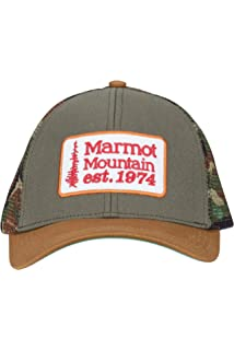 02700d769236b Amazon.com  Marmot Republic Trucker Hat Steel Onyx One Size  Marmot ...