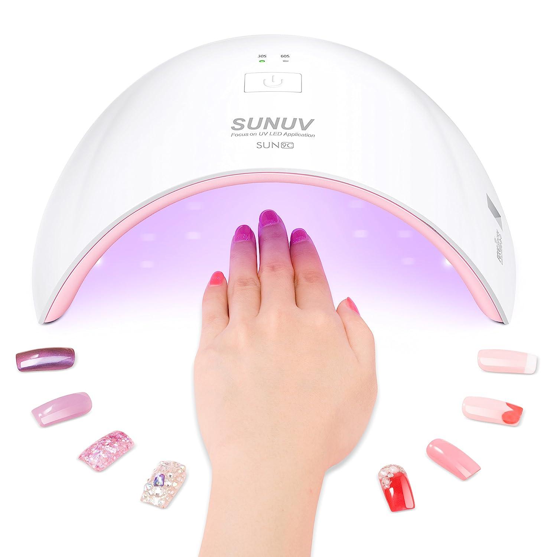Amazon.com : SUNUV 24W UV Light LED Nail Dryer Curing Lamp for ...