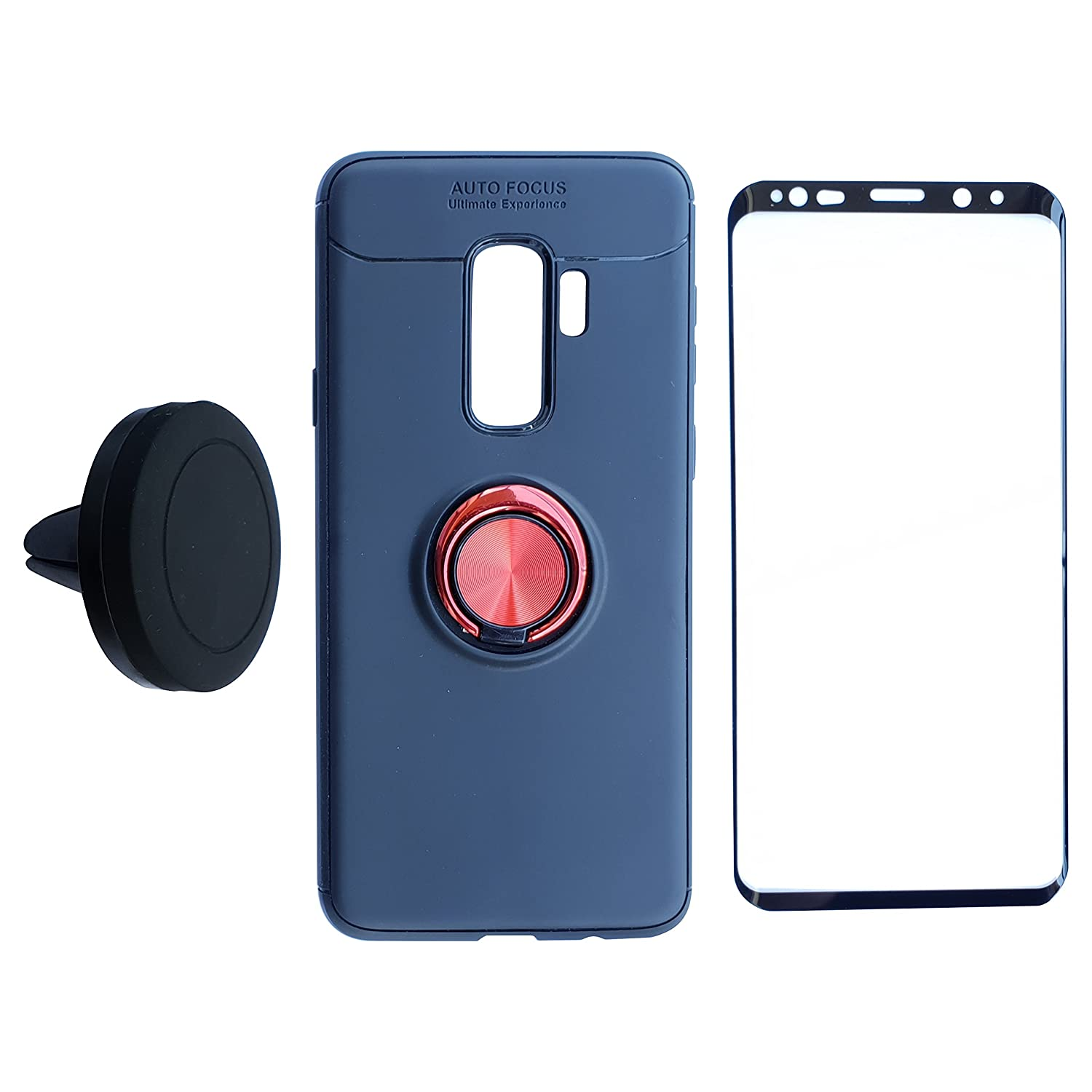 Amazon Samsung Galaxy S9Plus Case Screen Protector Car Cradle Set NOT S9 Case NOT S9 Screen APEX Intuition Anti Drop Invisible Finger