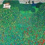 Adult Jigsaw Puzzle Gustav Klimt: Poppy Field: 1000-piece Jigsaw Puzzles