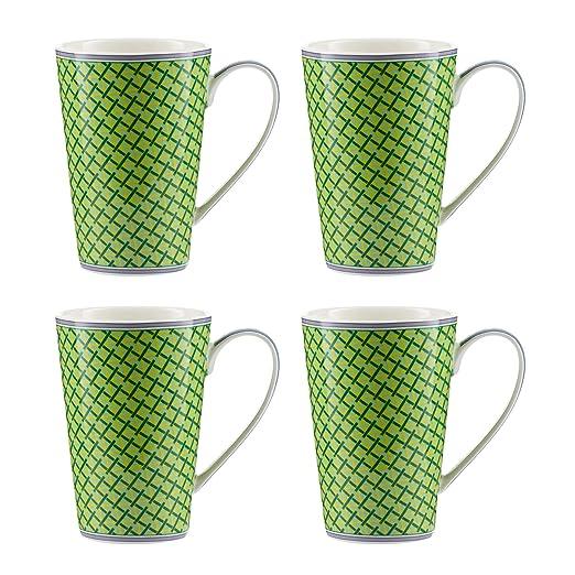 Jameson & Tailor - Juego de 4 Tazas Mugs de porcelana ...