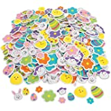 500 Colorful Easter Shapes adhesive /ARTS & Crafts/SCRAPBOOKING Supplies/SELF ADHESIVE/HOLIDAY ACTIVITY