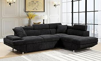Amazon.com: Esofastore Foreman Black Flannelette Fabric ...