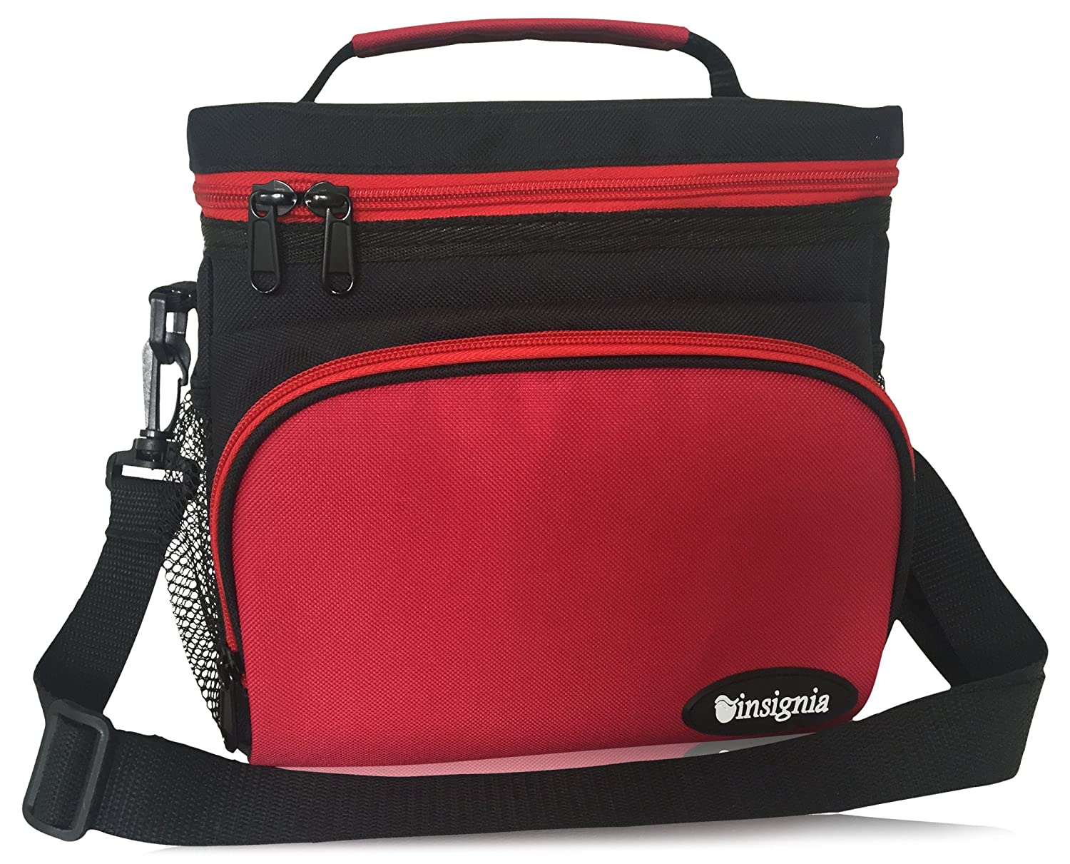 Insulated Lunch Bag: Insignia Mall Adult Lunch Box For Work