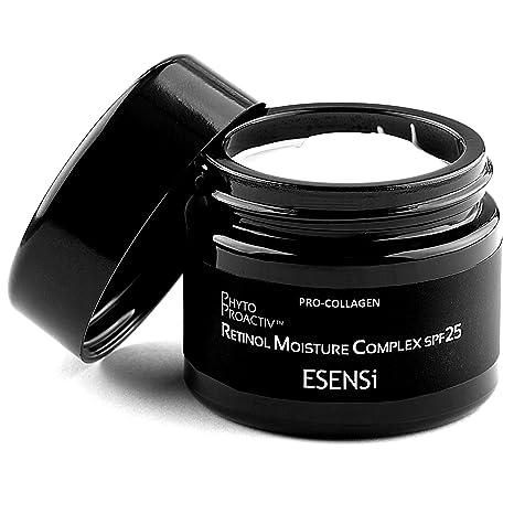 Hidratante con Ácido Hialurónico y Retinol de ESENSi | Crema de Día Antiarrugas y Antienvejecimiento SPF