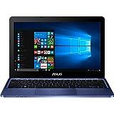"ASUS E200HA-FD0042TS - Ordenador portátil de 11.6"" (Intel Atom x5-Z8350, 2 GB de RAM, 32 GB eMMC, Intel HD Graphics, Windows 10 Original), azul oscuro - Teclado QWERTY Español"