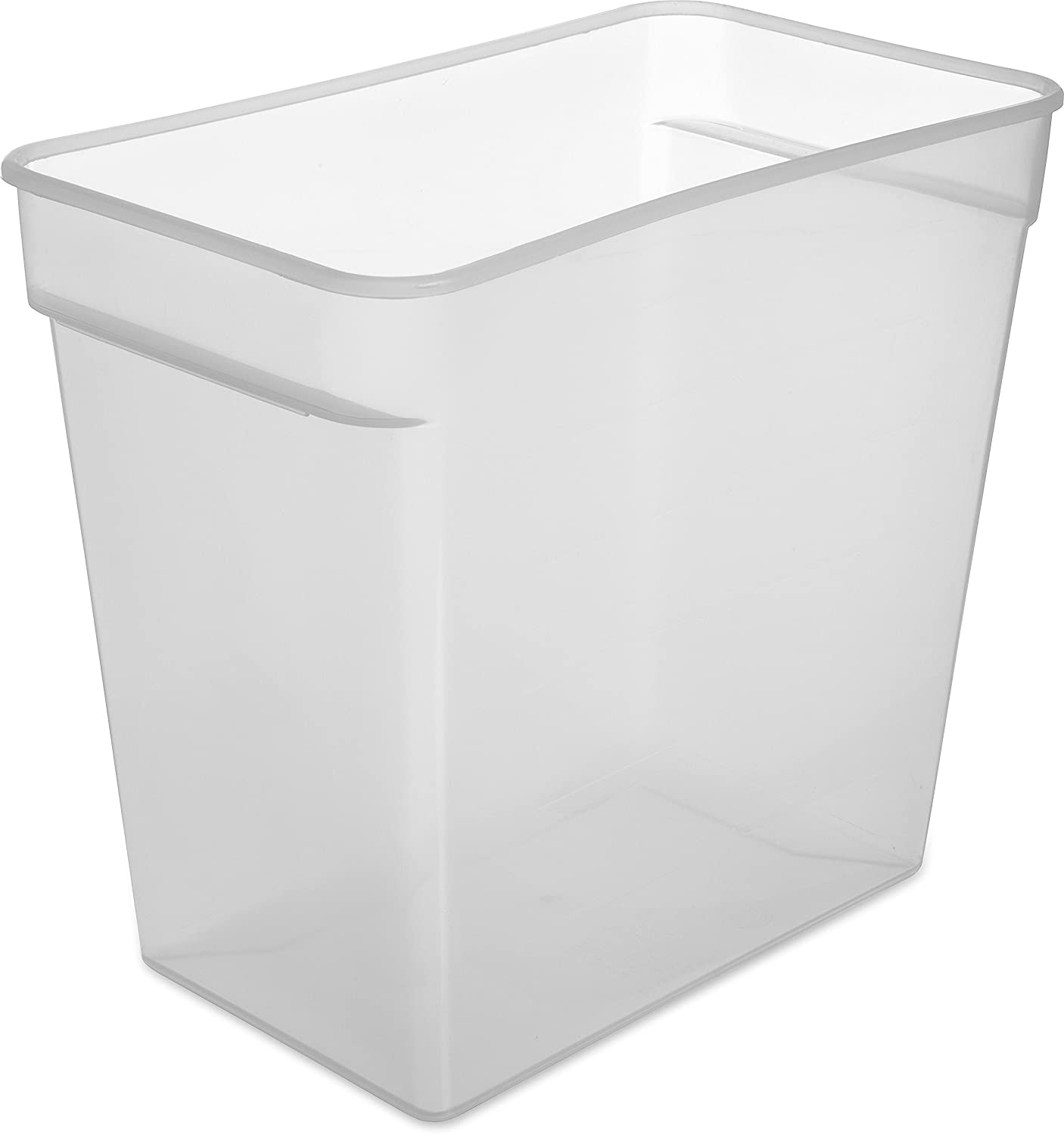 Carlisle ST162930 StorPlus BPA-Free Food Storage Container Only, 18 Quart, Clear (Pack of 6)
