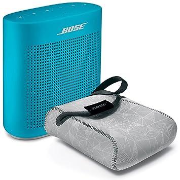bose soundlink blue. bose soundlink color bluetooth speaker ii - aquatic blue \u0026 reversible case bundle soundlink o