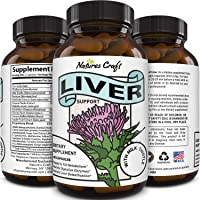 Best Liver Supplements with Milk Thistle - Artichoke - Dandelion Root Support Healthy Liver Function for Men and Women…