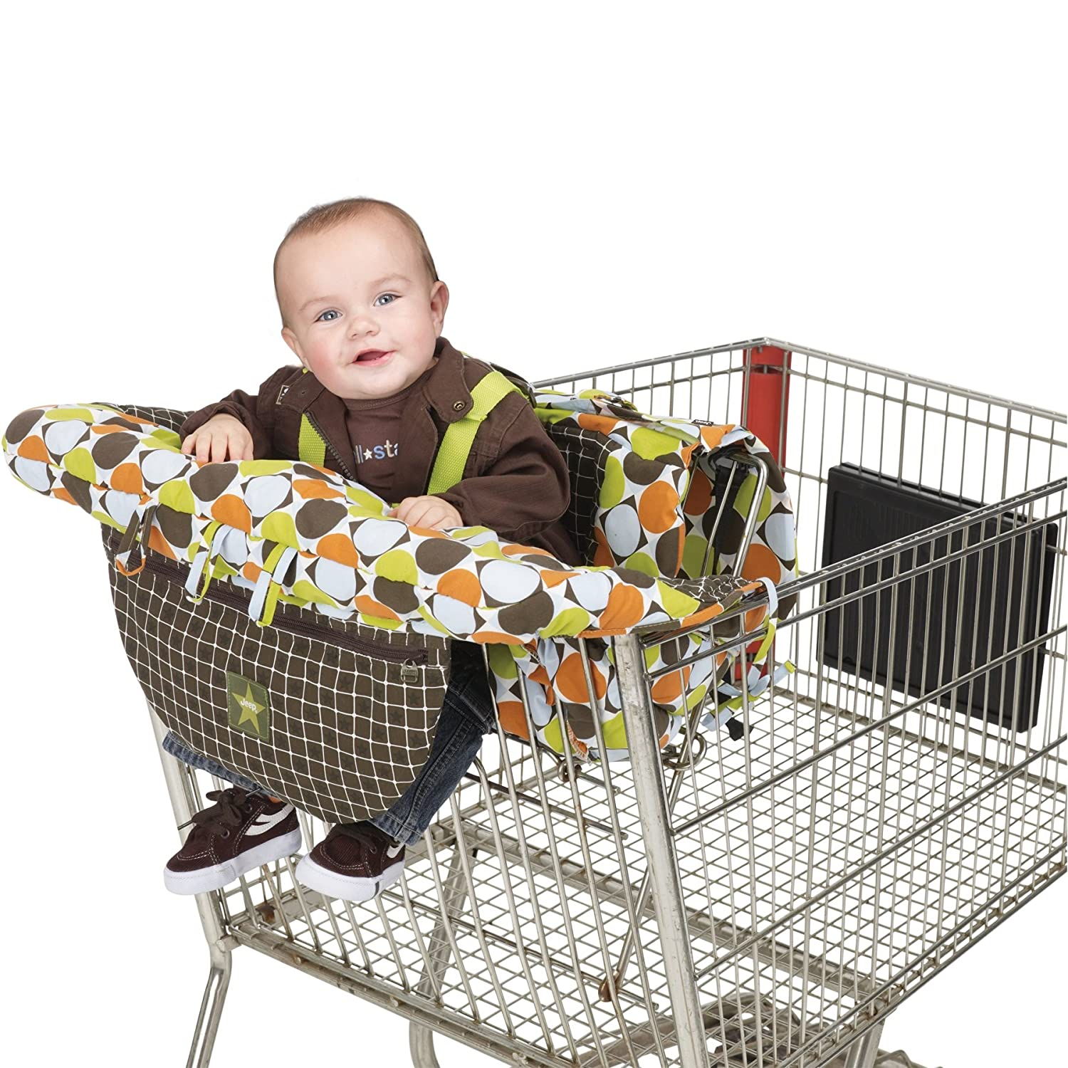 Amazon J is for Jeep 2 in 1 Shopping Cart and High Chair