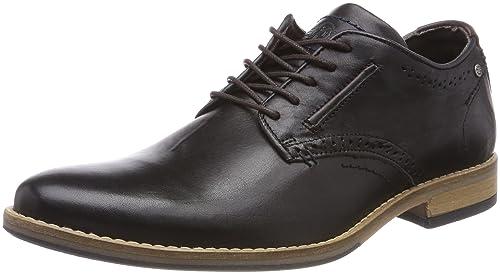 5263B, Zapatos de Cordones Derby para Hombre, Negro (Black 2495), 42 EU Bullboxer