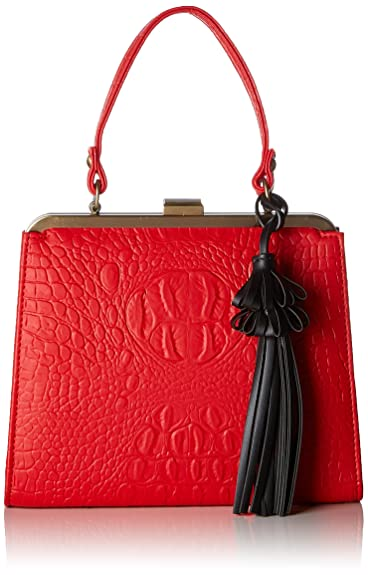 Lola Ramona Zenia, Cartables femme, (Red), 7x18.5x22.5 cm (B x H T)