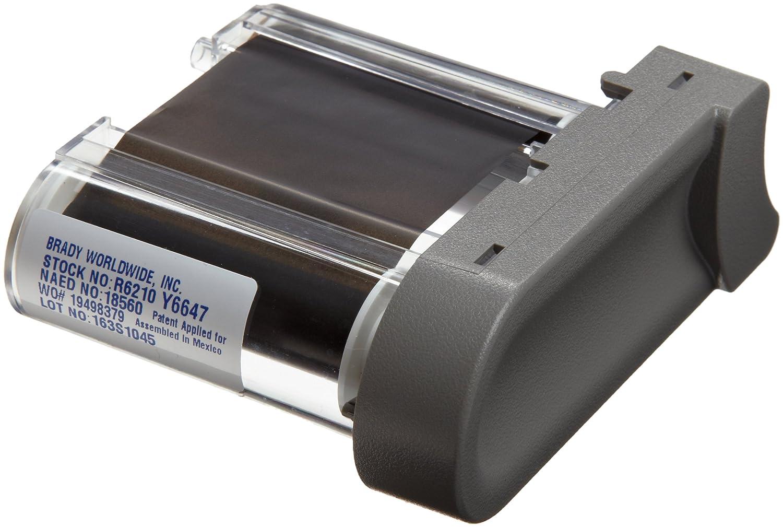 Black Color Series Printer Ribbon Brady R6210 TLS2200 And TLS PC Link 75 Length 2 Width