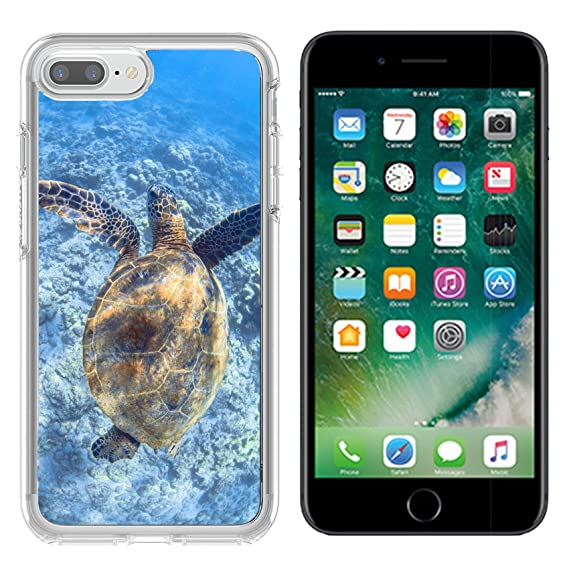 new product a4238 694b5 Amazon.com: MSD Apple iPhone 7 plus/iPhone 8 plus Clear case Soft ...