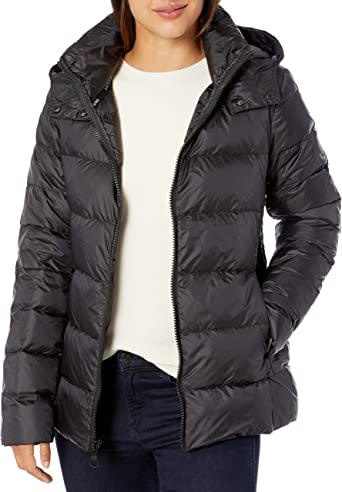 Vince Camuto Womens Quilted Down Jacket