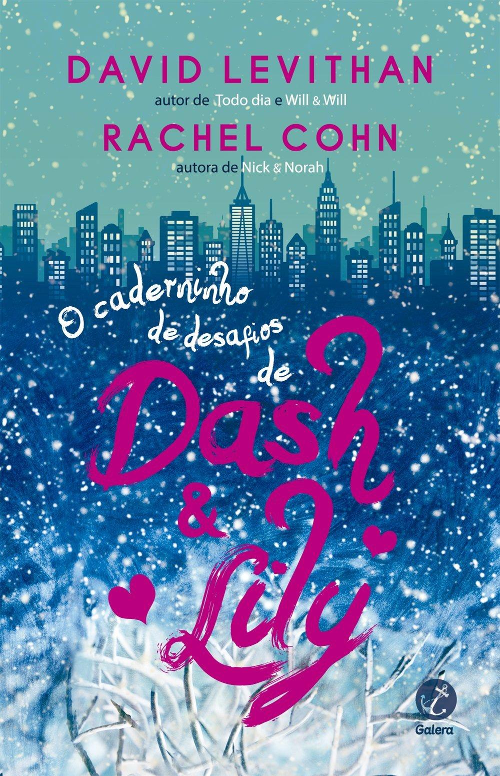 Resenha - O caderninho de desafios de Dash & Lily