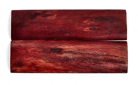"4d2e5701c0 Texas Knifemakers Supply: Black Cherry Camel Bone Knife Handle Scales,  5"" x 1"