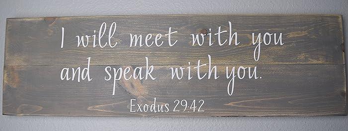 Personalized Bible Verse Wood Sign, Custom Wall Decor, Christian Wood Sign  U2013 Bible Verse