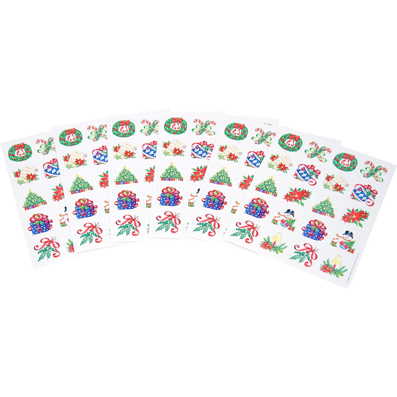 Paper Magic 655980 Eureka Christmas Stickers Paper Magic Group Inc.