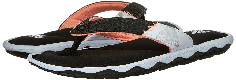166dd3b61122 adidas Performance Women s Anyanda Flex W Athletic Sandal  Black White Silver 7 B(M) US  Amazon.in  Shoes   Handbags