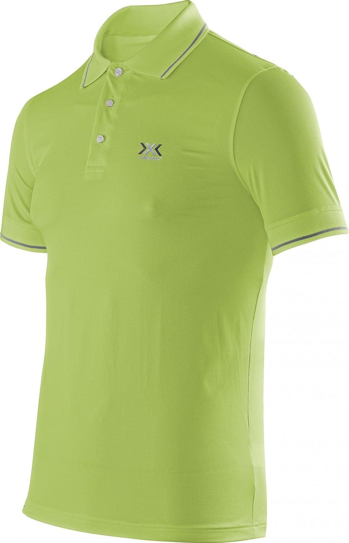 X-Bionic Adultos en funci/ón de la Ropa de Viaje OW Polo Camiseta de Manga Corta para Hombre