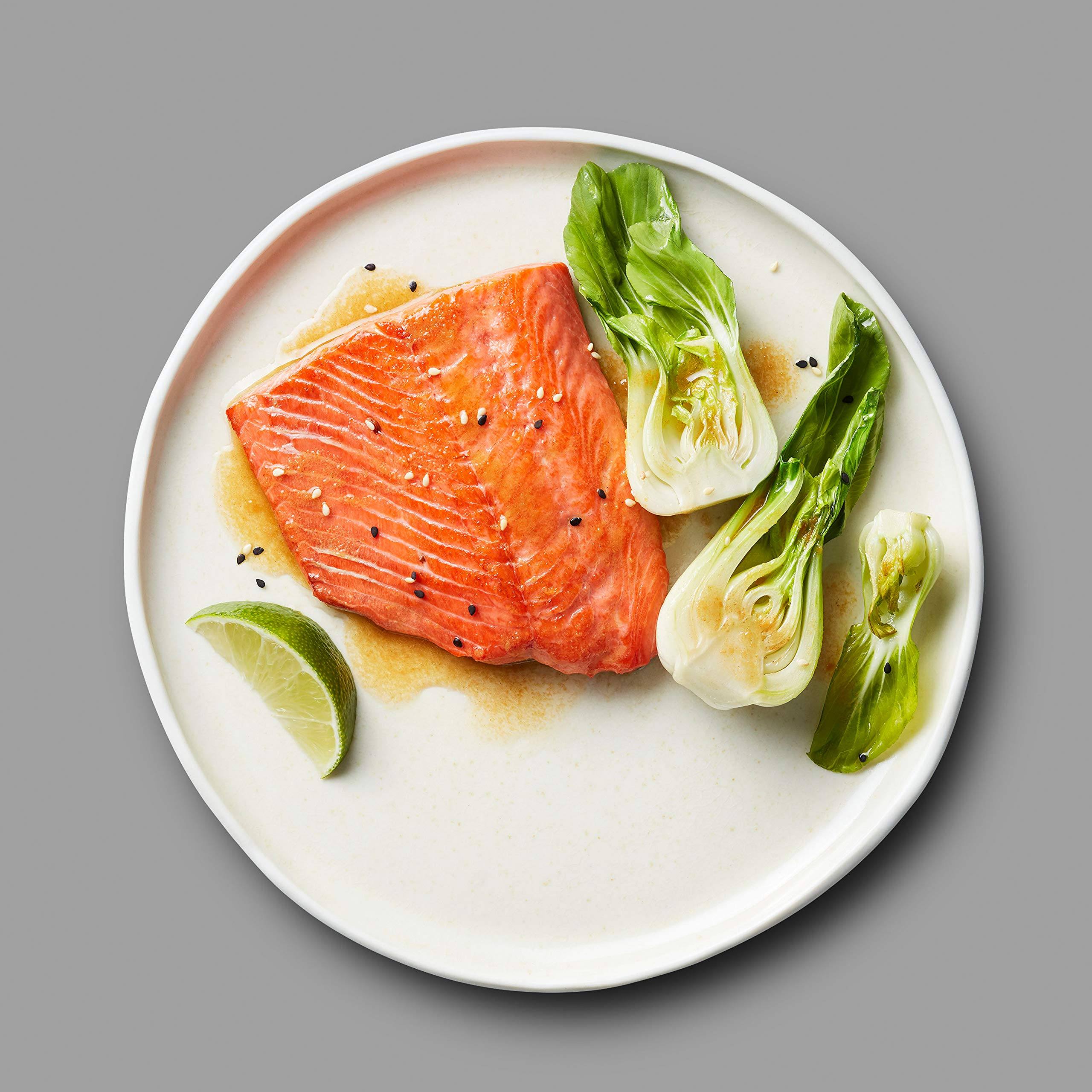 Martha Stewart for True North Seafood: Simple and Easy Sockeye Salmon with Miso Butter and Atlantic Salmon with Lemon Herb Butter - (Pack of 4) 11 oz. Trays by True North Seafood Company (Image #7)