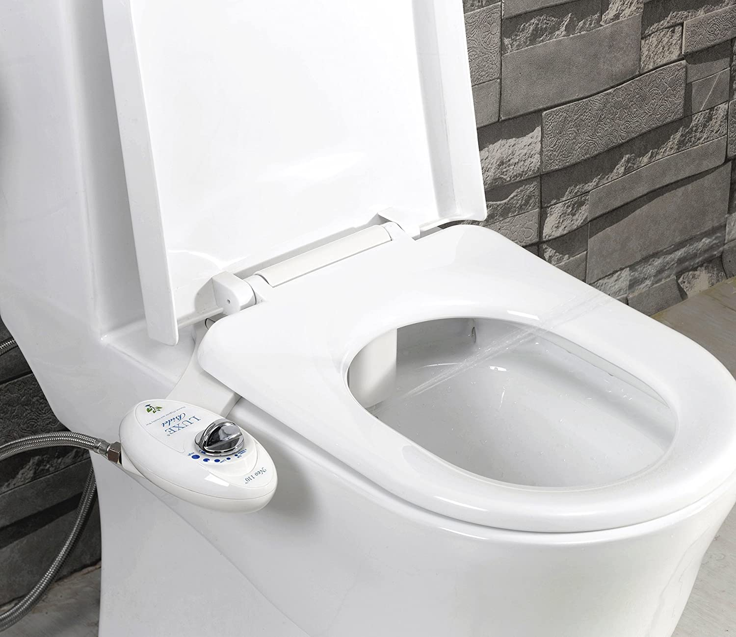 Luxe Bidet Neo 110 - Fresh Water Non-Electric Mechanical Bidet ...