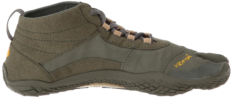 Vibram Mens V-Trek Military//Dark Grey Hiking Shoe