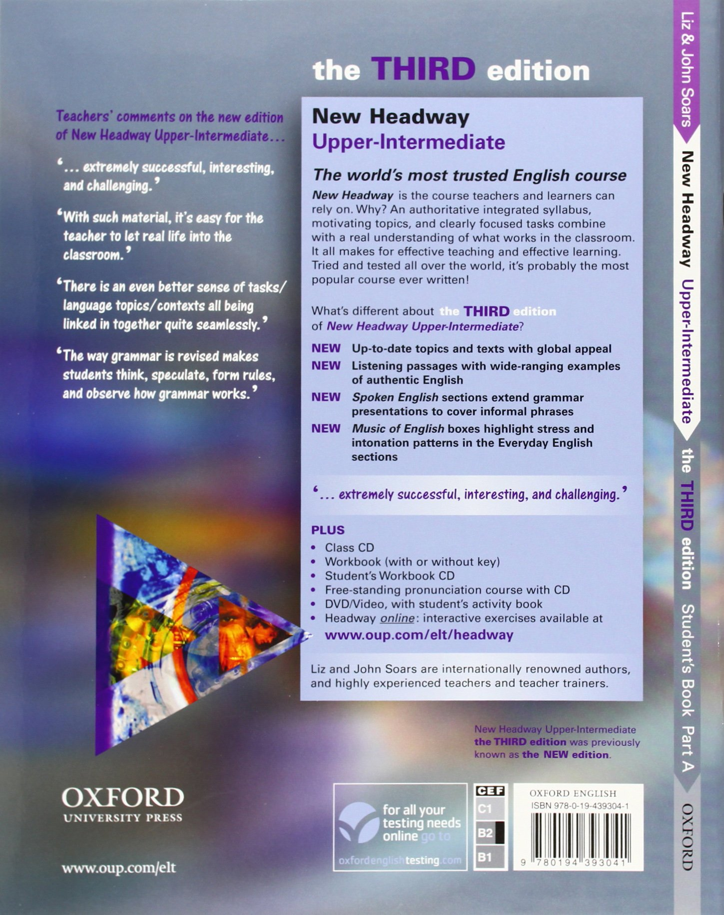 New headway upper intermediate students book part a units 1 6 new headway upper intermediate students book part a units 1 6 headway elt liz soars 9780194393041 amazon books fandeluxe Image collections
