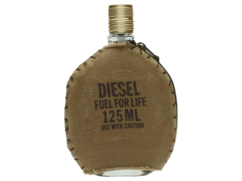 Diesel Fuel for Life Eau de Toilette Spray for Men, 4.2 Ounce DIESEL-946592