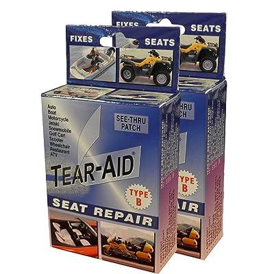 Tear-Aid Vinyl Seat Repair Kit, Blue Box Type B : Sports & Outdoors