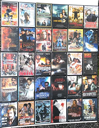 Amazon.com: 30 Different Spanish (Mexican) DVDs * New * All ...