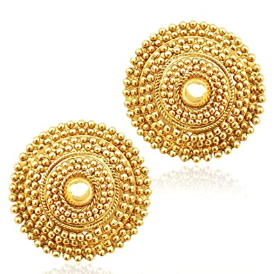 5a43b678e Amazon.com: Crunchy Fashion Bollywood Style Traditional Indian Jewelry Stud  Earrings for Women: Jewelry
