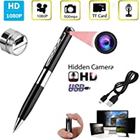 SekyuritiBijon HD Spy Pen Hidden with HD Quality Audio/Video Recording,16GB Card Support Spy Camera