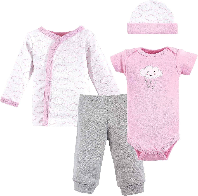 Luvable Friends Baby Boys' Cotton Preemie Layette Set
