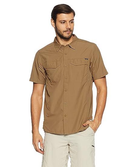 00f67cd76e4 Amazon.com : Columbia Sportswear Men's Silver Ridge Short Sleeve ...