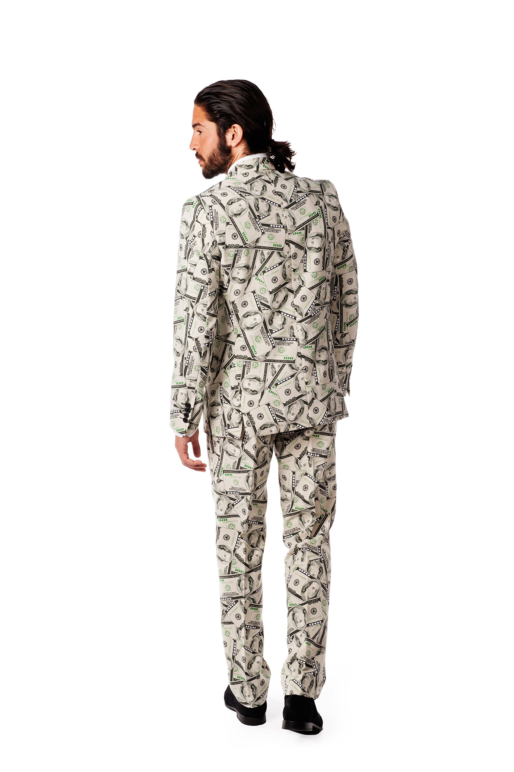 OppoSuits Men's Cashanova Party Costume Suit, Multi, 40 by Opposuits (Image #2)