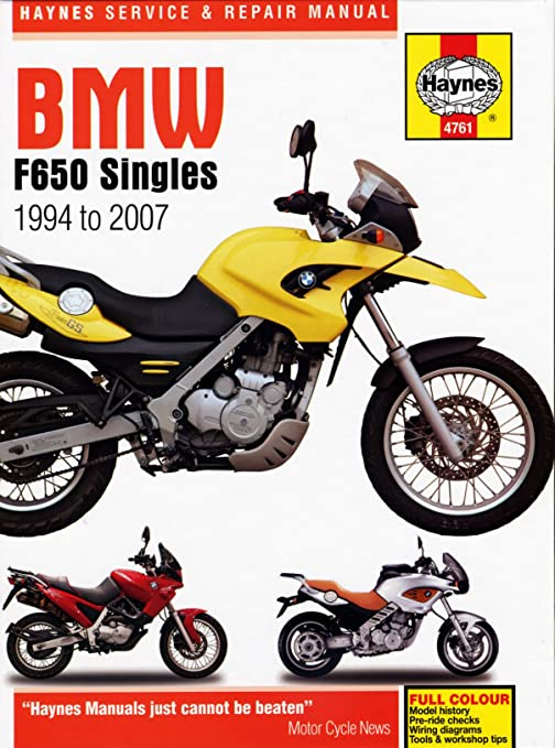 Bmw F650gs Wiring Diagram | Wiring Diagram on