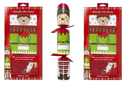 Christmas crackers make your own christmas crackers diy elf christmas crackers make your own christmas crackers diy elf nutcracker xmas party tableware kids x 12 solutioingenieria Images