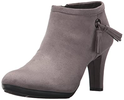 fcb2fc3f987 Amazon.com | Anne Klein Women's Silva Fabric Ankle Boot | Ankle & Bootie
