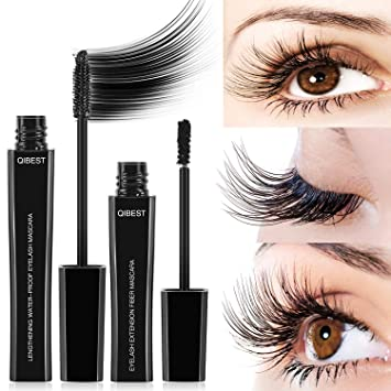 30f67649edd DDK 4D Silk Fiber Lash Mascara, Mascara Cream Makeup Lash, Natural  Ingredients Mascara for