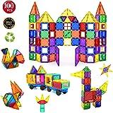Children Hub 100pcs Magnetic Building Set - Construction Kit Educational Toys For Your Kids (Stronger Magnets)