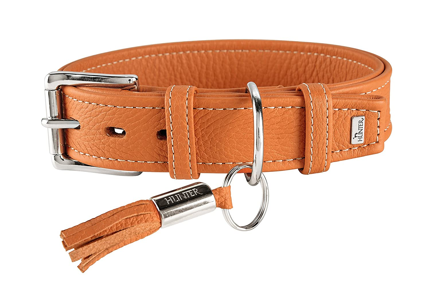 Hunter HT63302 Cannes Leather Collar, One Size