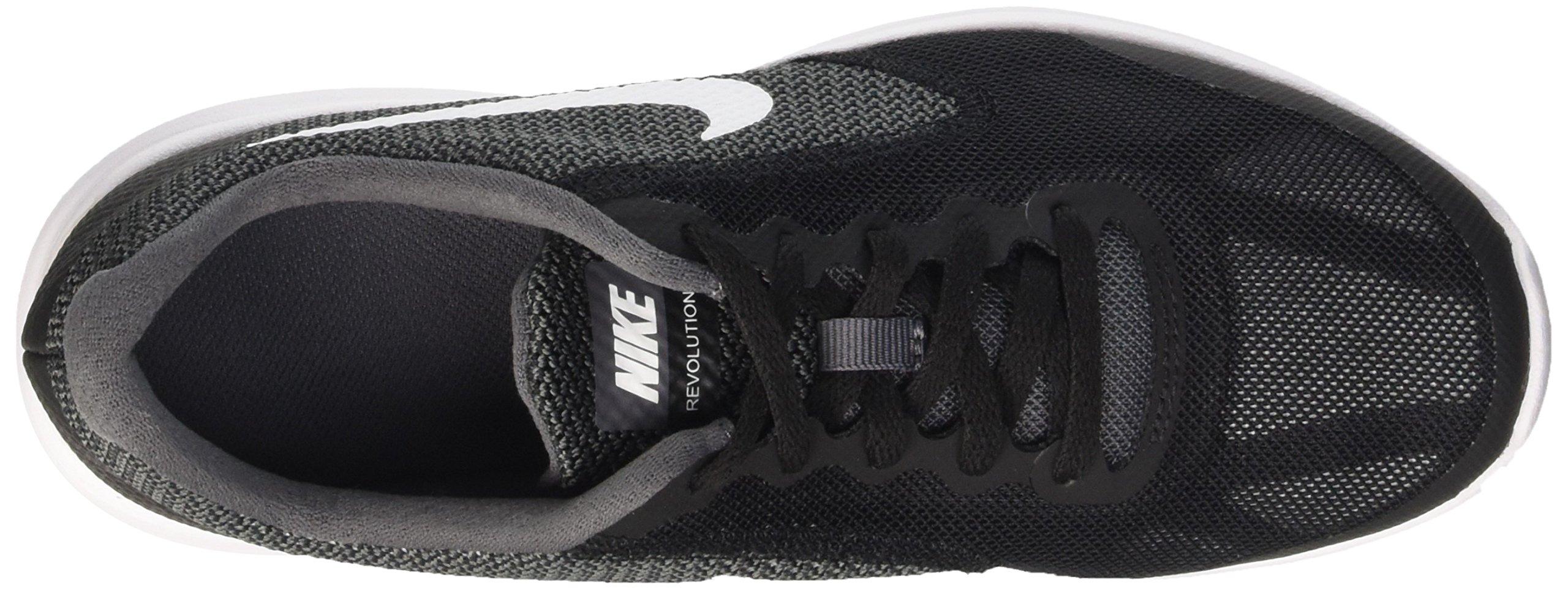 Nike Boys' Revolution 3 (GS) Running Shoe Dark Grey/White/Black/Pure Platinum 3.5 M US Big Kid by Nike (Image #7)