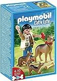 Playmobil Perros - Pastor alemán con cachorros (5211)